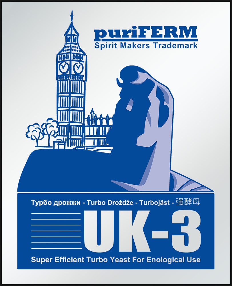 Puriferm UK-3 Turbo Drożdże